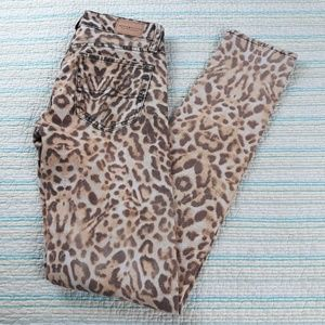 Ralph Lauren Denim Supply 25 Animal Skinny Jeans